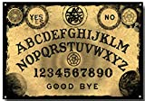 nonbrand Ouija Board Metal Tin Sign Retro Vintage Fashion Wall Decor