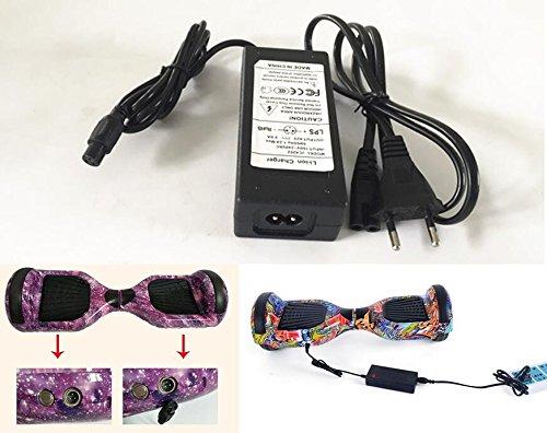 42V 2A EU Alimentazione AC adattatore Carica Batterie per Hoverboard Scooter Elettrico Monopattino Elettrico Segway skateboard