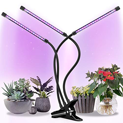 Grow Lights Plant Light for Indoor Plants Lamps Bulb Full Spectrum Auto ON/Off Timer