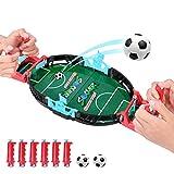 Kriogor Mini Jeux de Football, Jeux de Table de Baby-Foot,Mini Bureau de...