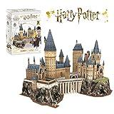 Harry Potter Puzzle 3D - Château de Poudlard, Maquette Adulte et Enfant, Decoration Chambre, Cadeau Aniversaire, 197 Pièces, 210 Minutes