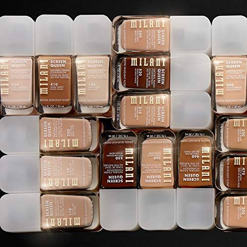 Product Image 6: Milani Screen Queen Liquid Foundation Makeup - Cruelty Free Foundation With Digital Bluelight Filter Technology (Warm Mocha)