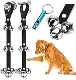 BLUETREE 2 Pack Dog Doorbells Premium Quality Training Potty Great Dog Bells Adjustable Door Bell Dog Bells for Potty Training Your Puppy The Easy Way - 7 Extra Large Loud 1.4 DoorBells