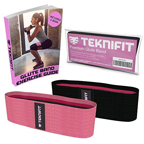 Teknifit Booty Builder | Elastico Fitness per Glutei Banda di Resistenza per esercizi di...