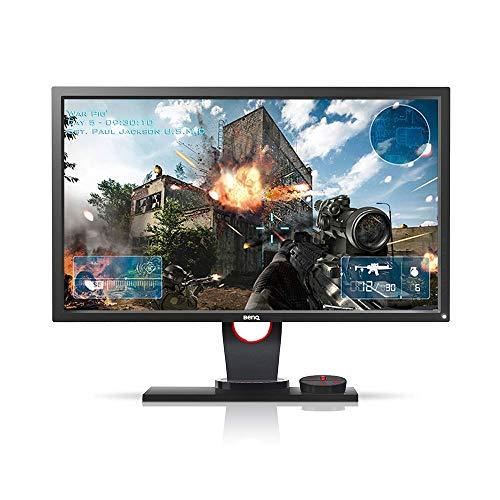 Monitor Gamer BenQ Zowie XL2430 de 24' 144Hz, Conexão Display Port, Lag-Free, Black Equalizer, S-Swtich, Low Blue Light e Ajuste de Altura, Grafite Fosco