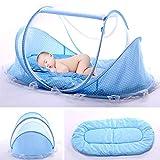 Lit Bébé, Berceau de voyage pliable, pour bébé avec Tente moustiquaire,...