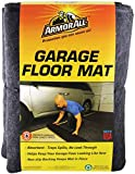 Drymate Armor All AAGFMC22 Garage Floor Mat, 22' x 8'10', Charcoal (Made in The USA) Absorbent/Waterproof/Durable (Includes Double Sided Tape)
