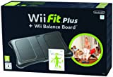 Wii Fit Plus + Wii Balance Board - noir