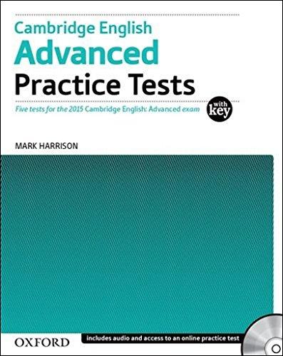 Cambridge English: Advanced Practice Tests: Cambridge English Advanced Practice Test with Key Exam P