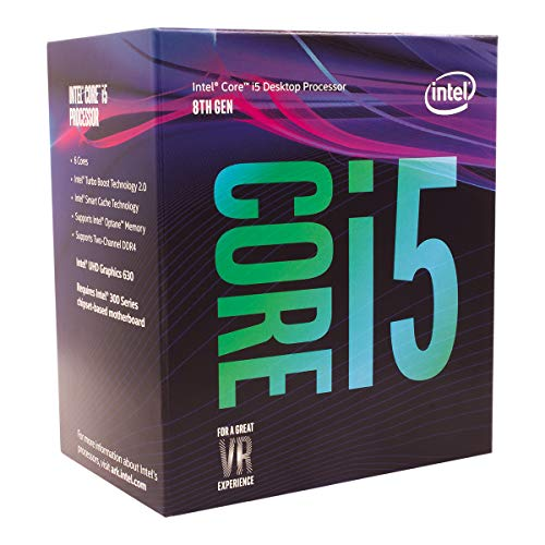 Intel i5-8400 - Procesador Core (9M Cache, up to 4.00 GHz)