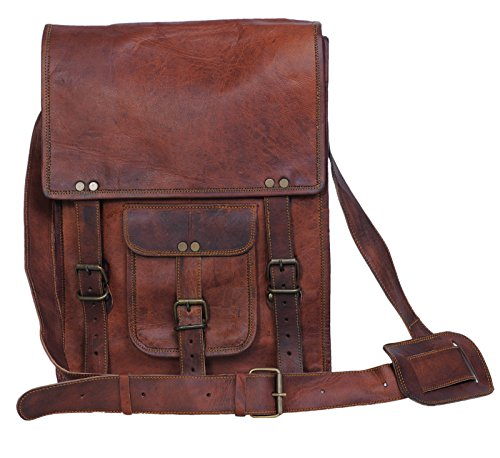Komal's Passion Leather 11 Inch Sturdy Leather satcel Ipad...
