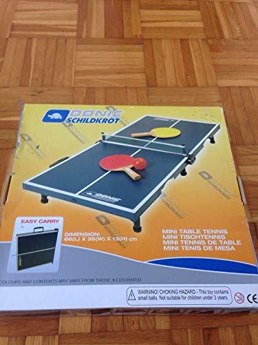 Donic-Schildkröt TT-Tisch Minitisch-Set MINI (66x35x13), 838575