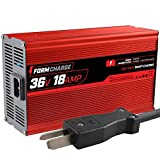 FORM 18 AMP Battery Charger for 36 Volt Club Car, EZGO & Yamaha Golf Carts with Crowfoot Plug