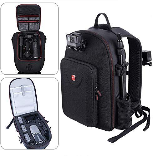 Smatree Zaino Compatibile con DJI Mavic 2 Pro/Zoom Drone, Adatto per Tasca DJI Osmo, Custodia Impermeabile, Asta di Prolunga