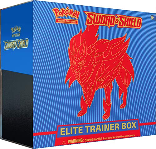 Pokemon Pokmon TCG: Sword & Shield Elite Trainer Box