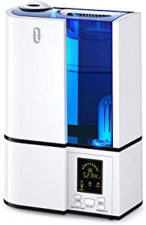 TaoTronics Humidifiers, 4L Cool Mist Ultrasonic Humidifier for Bedroom Home Large Room..