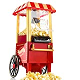 Gadgy ® Machine à Pop Corn | Retro Popcorn Maker | Air Chaud Sans Gras...