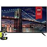TCL 55R635 55 inch 6-Series 4K QLED Dolby Vision HDR Roku Smart TV Bundle with 1 Year Extended...