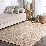nuLOOM Wynn Braided Indoor/Outdoor Area Rug, 5' x 8', Tan