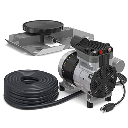 Airpro Pond Aerator Kit by Living Water Aeration - Rocking Piston Pond Aeration System for Up to 1 Acre