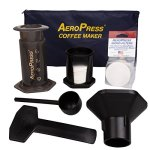 AeroPress Coffee and Espresso Maker with Tote Bag - Quickly Makes Delicious Coffee Without Bitterness - 1 to 3 Cups Per Press 33