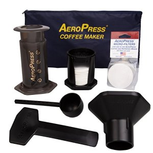 AeroPress Coffee and Espresso Maker with Tote Bag - Quickly Makes Delicious Coffee Without Bitterness - 1 to 3 Cups Per Press 9