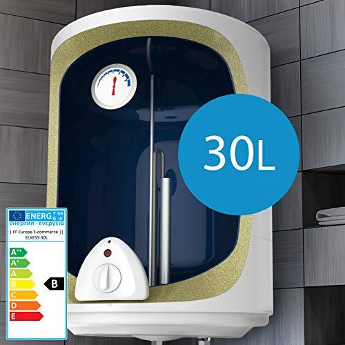Scaldabagno elettrico - 30,50,80,100 Litri, Potenza 1500W, Termostato a 75 ° C, Serbatoio in silicone - Scaldacqua, Boiler Elettrico