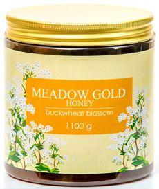 Meadow Gold Puro Crudo Miele di grano saraceno in fiore di grano saraceno 1,1 Kg