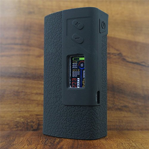 ModShield for Sigelei & Fuchai 213 Plus TC 213W Silicone Case ByJojo Sleeve Skin Wrap Cover (Black)