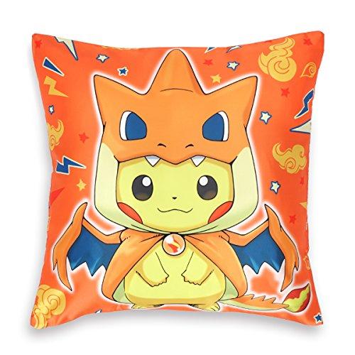 SmartKey Pokemon Funda de cojín (50x 50cm), diseño de Pikachu