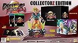 """Contient : Le jeu Dragonball Fighter Z sur PS4 Le diorama de Goku (18cm) avec un coloris exclusif """"Manga Dimension"""" 3 illustrations Un steelbook exclusif Une boîte collector Z"""
