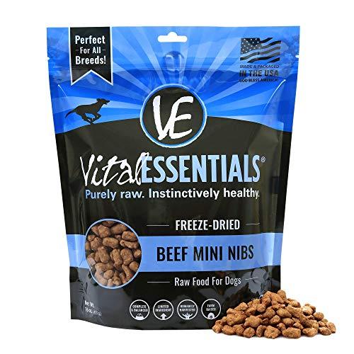 Vital Essentials Freeze-Dried Grain-Free Beef Mini...