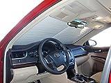 HeatShield, The Original Windshield Sun Shade, Custom-Fit for Toyota Camry Sedan w/o Sensor 2012, 2013, 2014, 2015, 2016, 2017, Silver Series