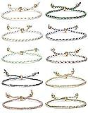 YADOCA 10 Pcs Bracelet Amitié pour Femme Filles Enfants Lot Bracelets...