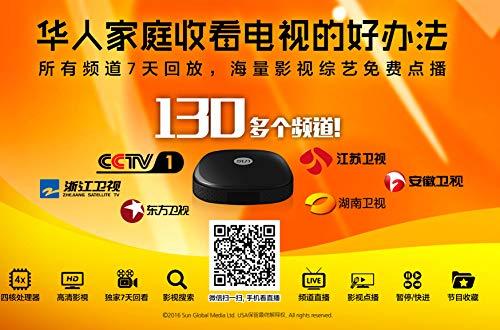 Huawen TV Box/Fun Chinese TV Box/Taiwan/Hongkang/Channels/Sun TV,7
