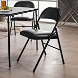 MECO Sudden Comfort Padded Folding Chair - 2 Pack
