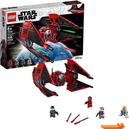 LEGO Star Wars Resistance Major Vonreg's TIE Fighter 75240 Building Kit (496 Pieces)