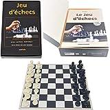 Editions Mathello | Coffret éducatif, Jeu d'échecs avec Livre | Jeu d'échecs | Pièces...