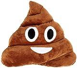 Q's 13' Poop Poo Emoji Emoticon Cushion Pillow Brown Stuffed USA Seller