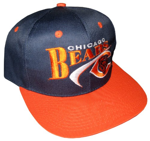 Snapback Cap Vintage Drew Pearson NOS Chicago Bears