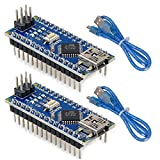 MakerHawk 2 pièces Nano V3.0 ATmega328P carte microcontrôleur Nano Module...