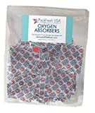 500cc Oxygen Absorbers for Dehydrated Food and Emergency Long Term Food Storage - 50 with PackFreshUSA LTFS Guide
