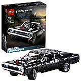 LEGO Technic -La Dodge Charger de Dom, Jeu de Construction réplique de la célèbre voiture de la saga Fast and Furious, 1077 pièces, 42111