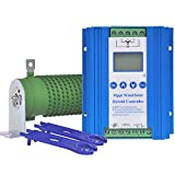 PIKASOLA 1400W Off Grid with Unloader Hybrid Wind Solar Controller Auto 12/24V Battery MPPT Charge Boost Float of max 800w Wind Turbine Generator 600w Solar Panel Home Street Light Controller
