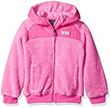 32 DEGREES Weatherproof Toddler Girls' Outerwear Jacket (More Styles Available), Two Toned-WG198-Fuchsia, 4T