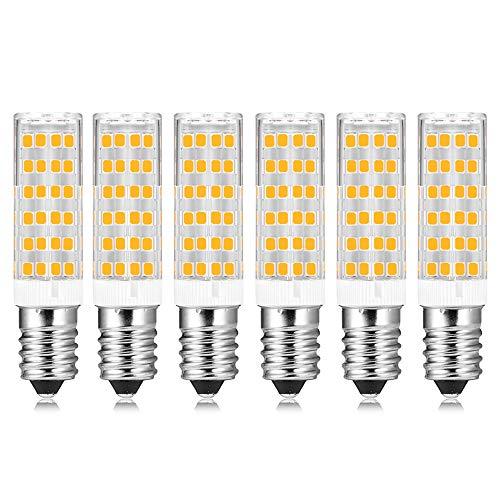 Lampadine LED E14 Luce Fredda 7W Equivalenti a 60W Incandescenza, 600 Lumens, Luce Bianco Fredda...