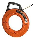Klein Tools 56010 Fish Tape 100-Foot is Non-Conductive Fiberglass,...