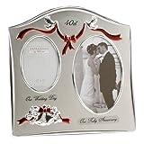 Anniversary Photo Frame Happy Anniversary 40th Ruby Wedding