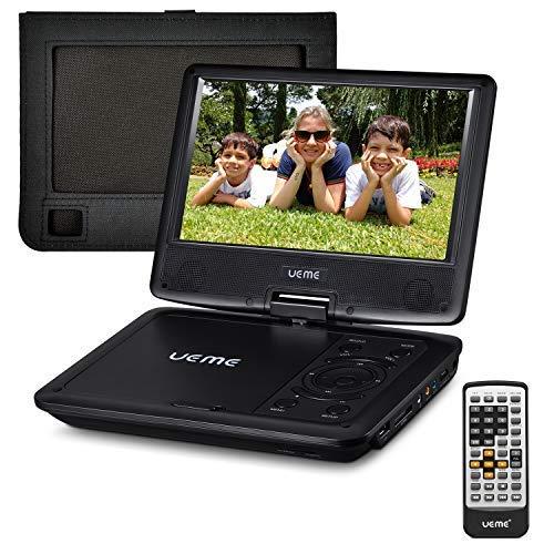 "7. UEME 9"" Portable DVD Player CD Player"