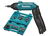 Makita DF001DW Screwdriver Complete with Built-in Battery, 3.6 V, Blue